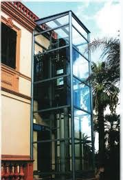 Dış Cephe Engelli Asansörü